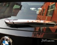 2011 2012 2013 BMW X5 E70 chrome Rear wiper cover trim