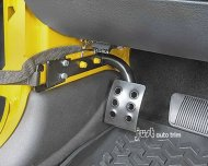 Wrangler Drivers Side Dead foot Rest Pedal fit 2007-2012
