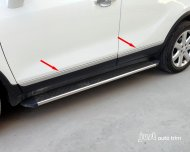 2012 2013 OPEL VAUXHALL MOKKA BUICK ENCORE CHROME BODY SIDE COVER TRIM GUARD KIT