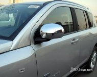 2007-2013 JEEP Compass Chrome side mirror cover trim