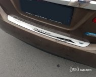 2013 NISSAN SENTRA Stainless steel Rear Bumper Protector sill plate cover