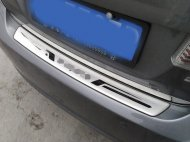 2012-2014 STAINLESS HONDA CIVIC REAR BUMPER PROTECTOR TRIM SILL COVER