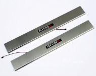 Nissan 350z LED door sill protector set 2003-2009