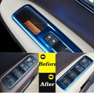 INTERIOR WINDOW SWITCH PANEL MOLDING COVER TRIM FOR Lexus Accessories 2012-2015 RX270 RX350 RX450