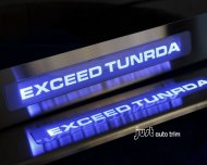 Toyota Tundra led door sill sills