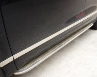 2011- 2013 Porsche Cayenne Stainless steel Body door Side Molding Trims