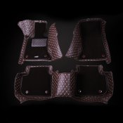 LEATHER WATERPROOF CAR MATS FOR Porsche Accessories 2011-2013 Cayenne
