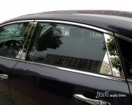 2013 NISSAN ALTIMA Chrome Door Pillar Post Window Decal Cover Trim Kit 8PCS
