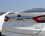 2013 2014 Ford Mondeo Fusion CHROME REAR CARGO TRUNK LID TRIM