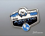 jeep PATRIOT ARCTIC YETI MOPAR Chrome Badge Emblem Decal