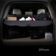 2014-2016 Highlander Aluminum Alloy Canvas Stretch Rear Cargo Privacy Cover