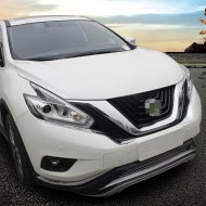 Chrome Headlight Front Light Cover Trim For 2015-2017 Nissan MURANO