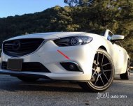2014 Mazda 6 ATENZA chrome front fog trim Pair
