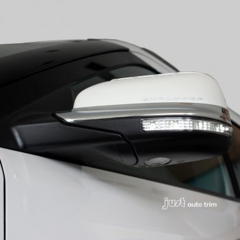 2010-2015 Ford Explorer Pair side mirror cover trim