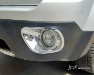 2011- 2013 JEEP PATRIOT Chrome front bumper fog cover trim
