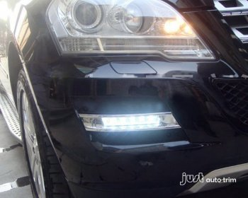 2008-2012 BENZ GLK LED DRL Driving Daytime Running Day Front Fog bumper