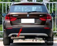 2010 2011 2012 bmw x1 Chrome Rear Trunk Lid trim cover E84