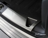 2010- 2013 jeep patriot Stainless Steel Rear Bumper Cargo Sill Protector