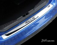 2012 -2013 Ford focus sedan Rear Bumper Sill/Protector Plate Steel cover trim