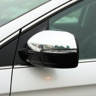 Chrome body side mirror cover trim for 2015-2016 FORD EDGE