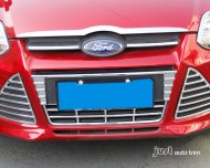 2012 FORD FOCUS Chrome Front Grille Decoration Fog Light Cover Trim 3pcs