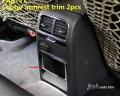 VW JETTA MK6 Center Console Cup&Speaker&handle&A/C&switch Chrome cover trim