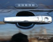 2011 2012 2013 2014 Ford Edge Triple Chrome plated ABS 4 Door Handle Without Smart Key Cover