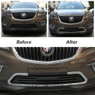 Buick Accessories 2016 ENVISION CHROME FRONT GRILLE FRAME AROUND COVER TRIM