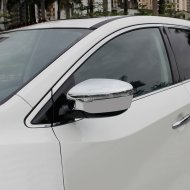 Chrome Body Side Mirror Cover Trim For 2015-2017 Nissan MURANO