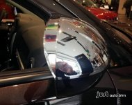 2007- 2014 jeep compass Chrome side mirror cover trim