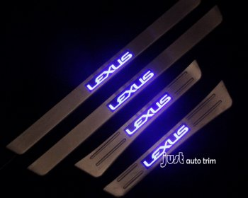 LEXUS LX470 led door sill Can be customized logo/color