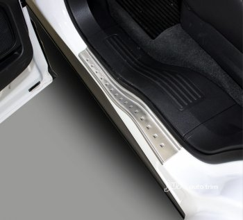 2010-2014 Ford Explorer door sills plate outside