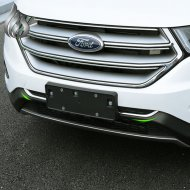 chrome front LOWER CENTER GRILLE grill trim cover for 2015-2016 FORD EDGE