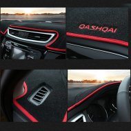 DASHBOARD DARK MAT PROTECTION SET FOR Nissan Accessories 2015-2016 Murano