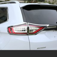 Chrome taillight rear light cover trim for 2015-2016 FORD EDGE