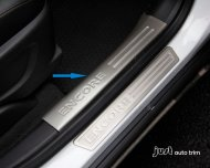 2012 2013 BUICK ENCORE OPEL MOKKA inside door sill scuff plate Guards