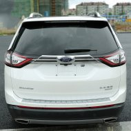 Chrome Tailgate Trunk Hatch Trim Bezel Cover for 2015-2016 FORD EDGE