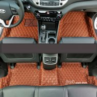 3D leather waterproof Car mats for 2015-2016 Hyundai Tucson
