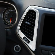 AC VENT FRAME MOULDING COVER TRIMS FOR JEEP Accessories 2012-2014 cherokee