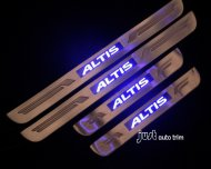 toyota altis led door sill protector set