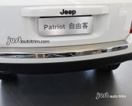 2011 2012 2013 jeep PATRIOT Stainless steel Rear Bumper cargo Protector cover
