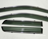 2007-2012 jeep compass Vent Window Visors Shades Shade Visor Rain Guards
