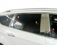 2013 FORD Escape / Kuga Pillar Post Window Decal Cover