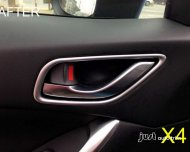 2013 2014 MAZDA 6 ATENZA Interior Inside Chrome Door Handle Cover Trim