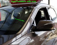 2013-2014 SANTA FE front window side cover trim