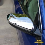 Chrome Body side Mirror Moulding Cover trims for 2016 2017 Honda Civic