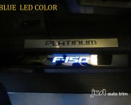 Ford f150 led Door Sill / Illuminated Scuff Plate Steel