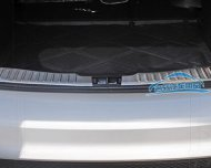 Ford 2012 UP Focus Hatchback Rear Bumper Cargo Floor Trim Sill Plate Cover Protector