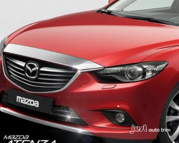 2013 2014 Mazda 6 ATENZA chrome front grille hood cover trim