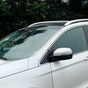front side window glass cover trim for 2015-2016 FORD EDGE